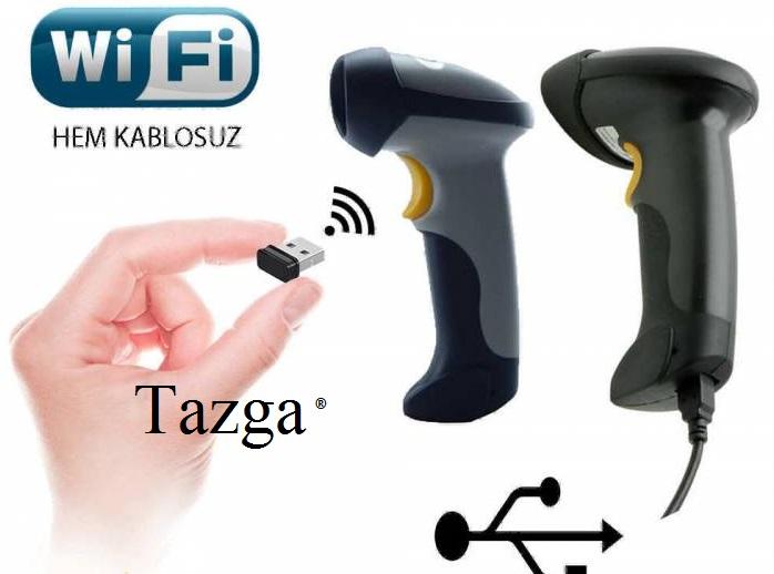 Tazga TSC-10103 kablosuz Barkod okuyucu 8681042010303